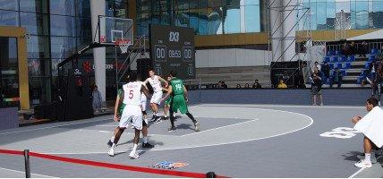 Баскетбольные площадки Алматы
