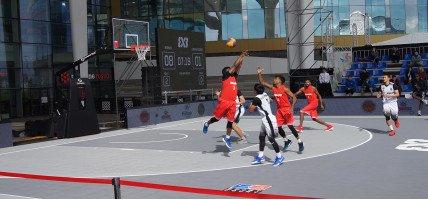 Баскетбольные площадки Астаны