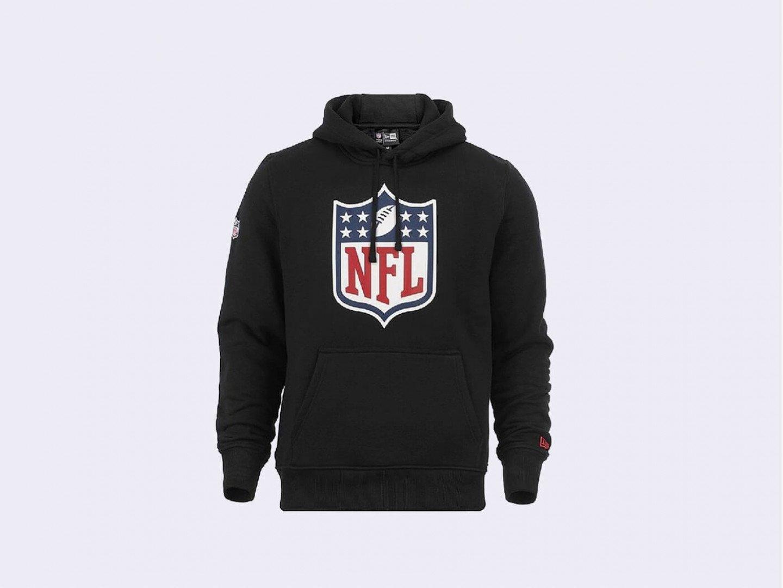 Толстовка New Era NFL Logo Hoodie / black