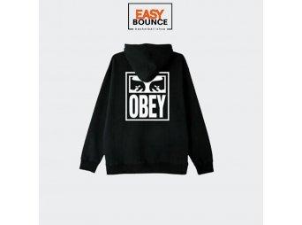 Толстовка Obey Eyes Icon 2 / black