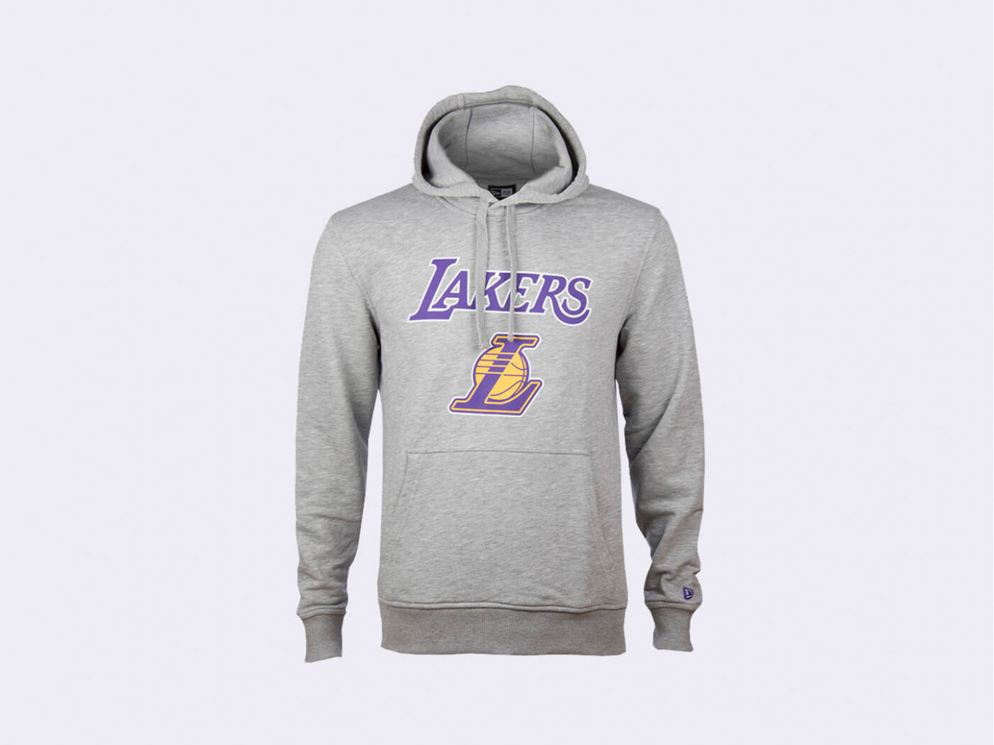 Толстовка New Era NBA Los Angeles Lakers / grey