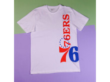 Футболка New Era Nba Philadelphia 76ers Team / white