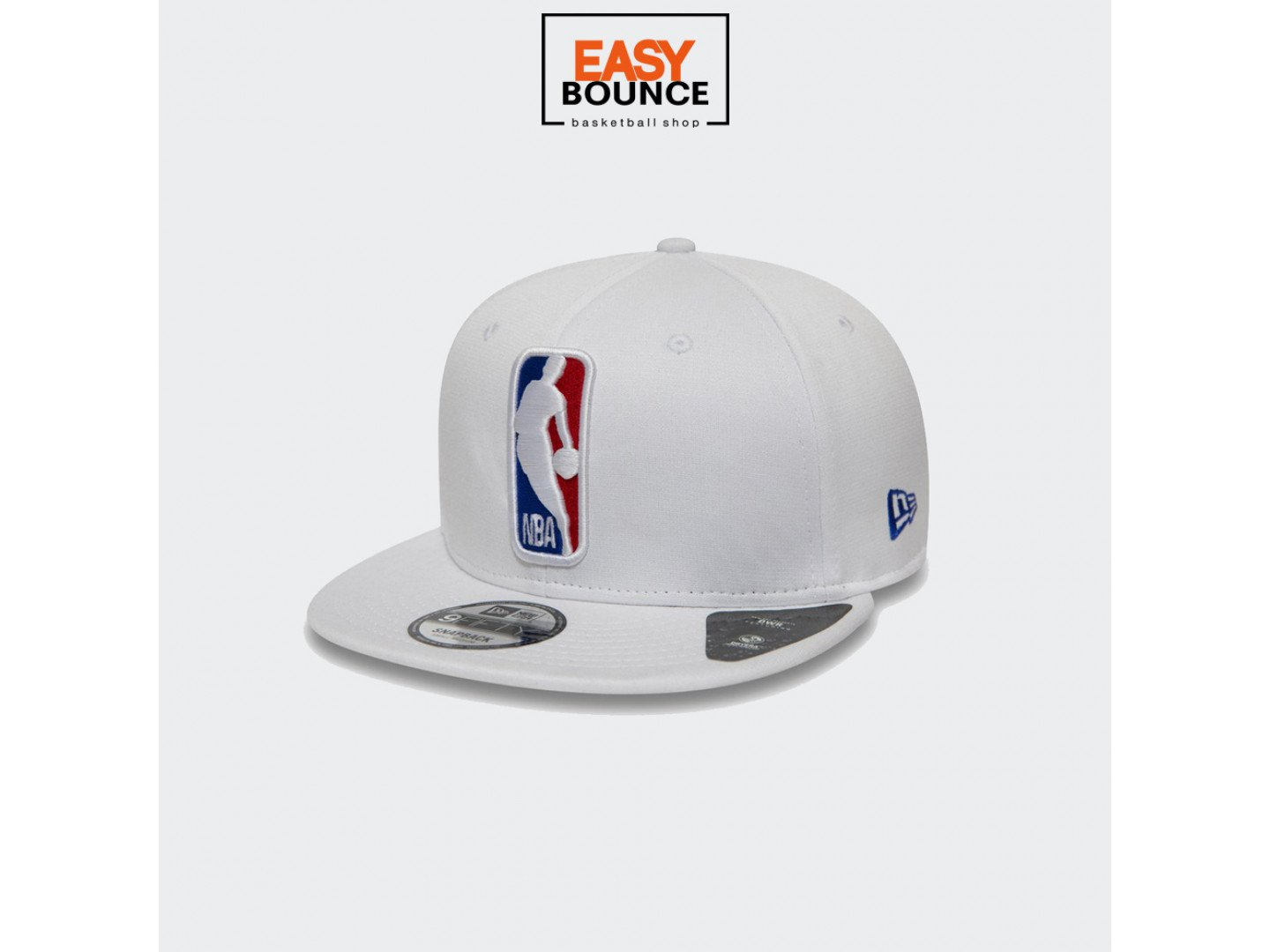 Кепка New Era NBA Logo Shadow Tech White 9FIFTY