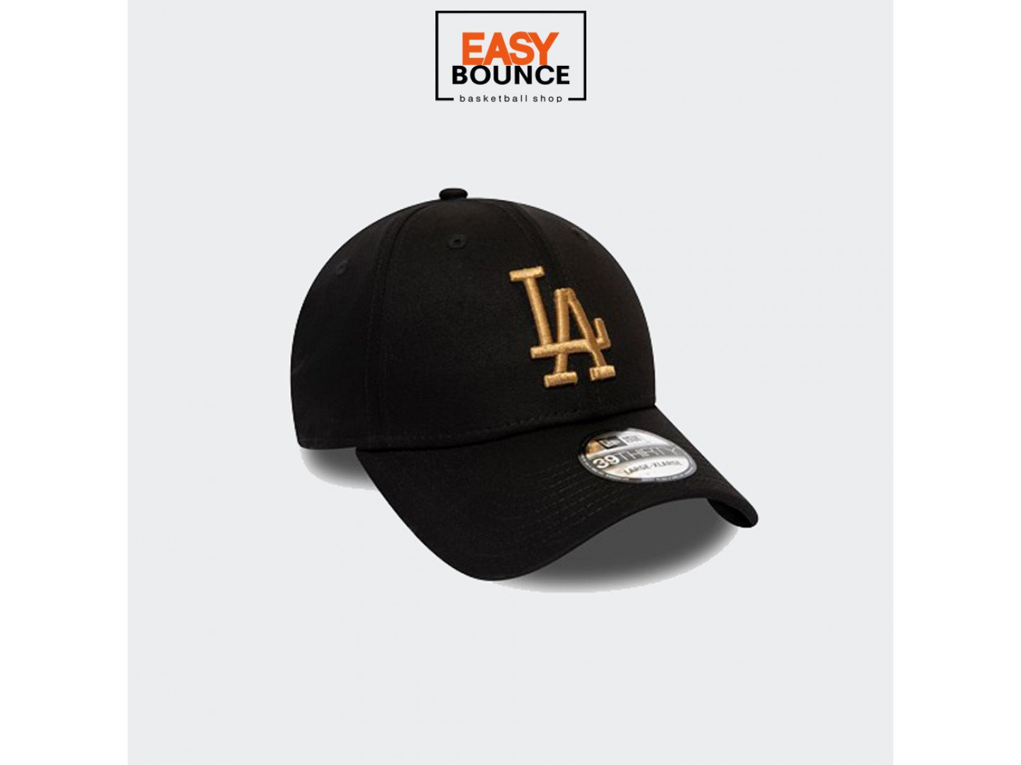 Кепка Los Angeles Dodgers Essential Black 39THIRTY