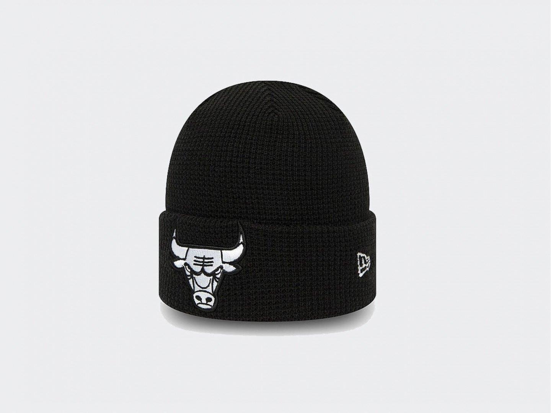 Шапка New Era Chicago Bulls NBA Team Cuff Knit Beanie / black