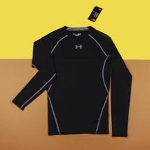 Компрессионная футболка Under Armour HG Armour LS / black