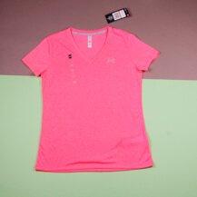 Женская футболка Under Armour Theadborne / pink