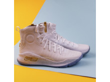 Мужские кроссовки Under Armour Curry 4 / white, gold