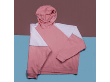 Худи Under Armour Unstoppable Double Knit / white, pink