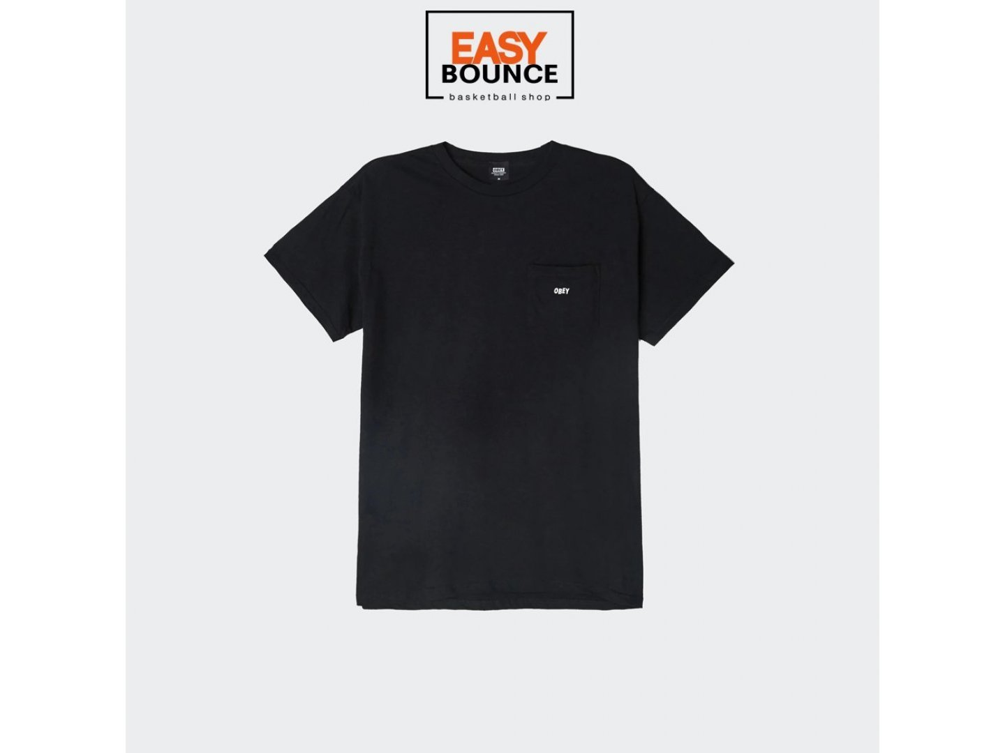 Футболка Obey Jumbled Basic Pocket Tee / black