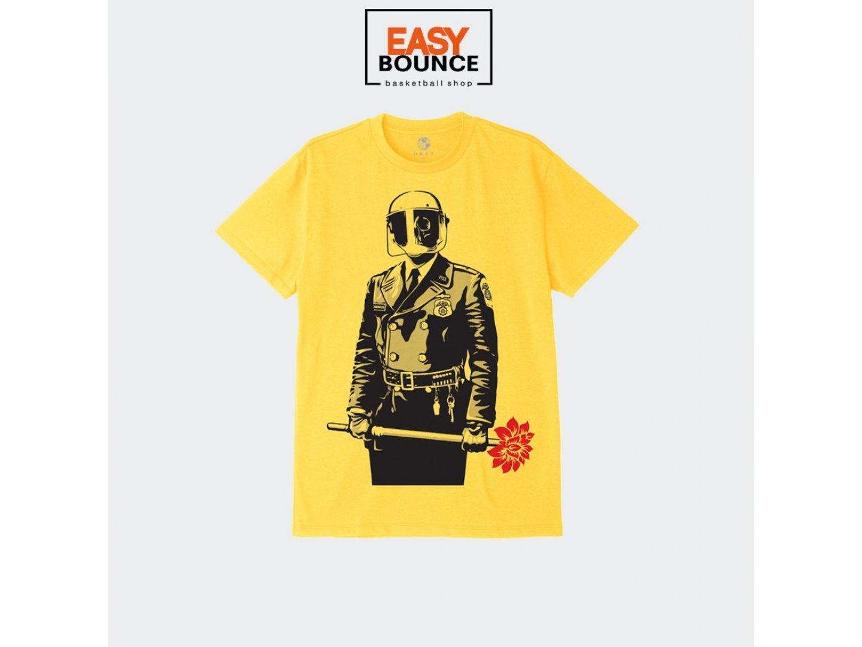 Футболка Obey Sadistic Florist / yellow