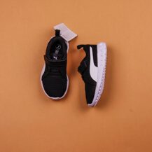 Детские кроссовки Puma Carson 2V, Black/White