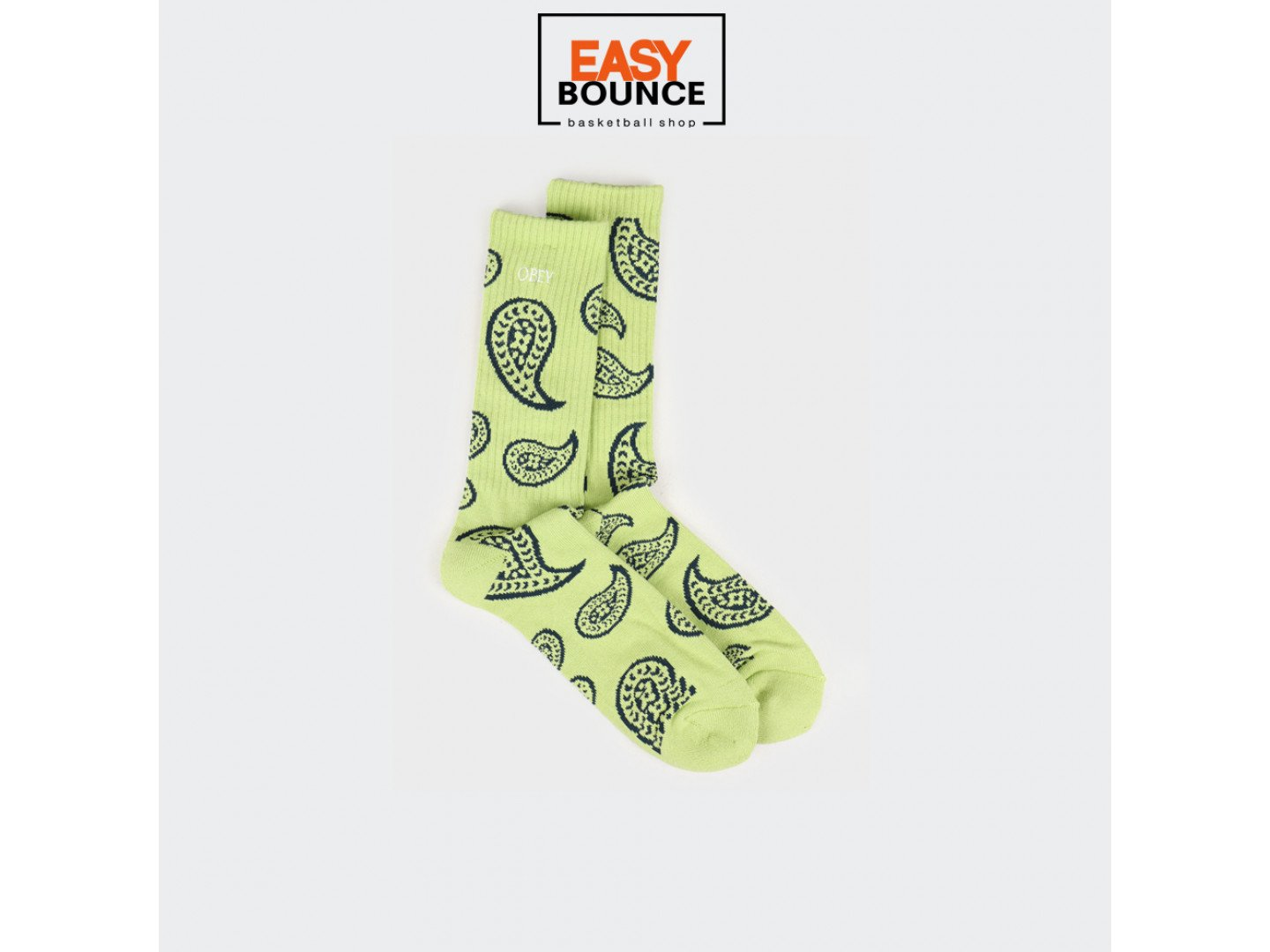 Носки Obey Dealer Socks Key Lime Multi