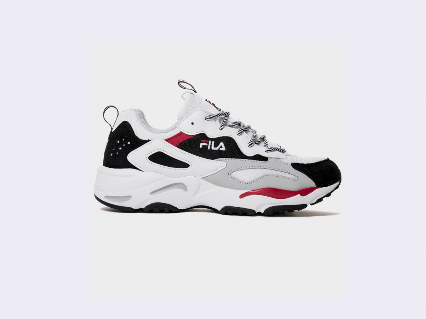 Кроссовки Fila Ray Tracer / white, black, grey