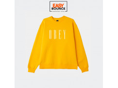 Свитшот  Obey New Box fit Crewneck / gold