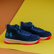 Детские кроссовки Under Armour Jet SYN PS, petrol blue / white / ether blue
