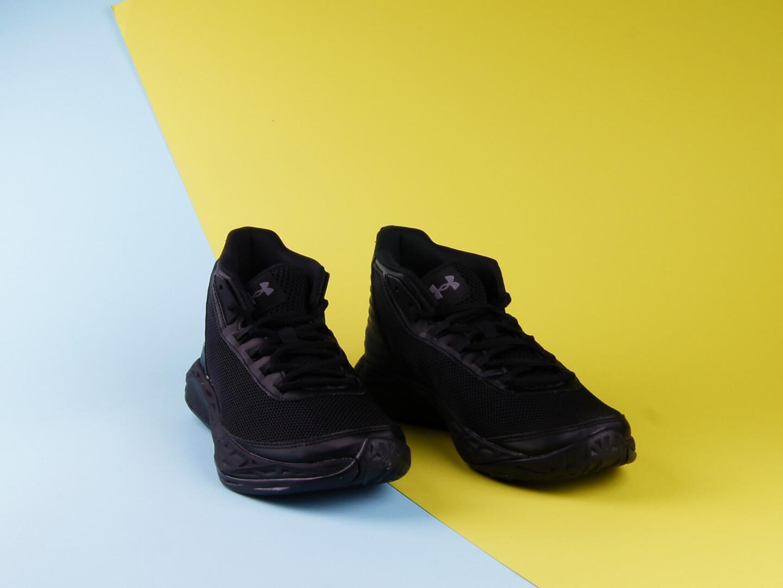 Детские кроссовки Under Armour Jet SYN, black