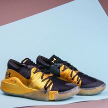 Мужские кроссовки Under Armour Anatomix Spawn Low / gold