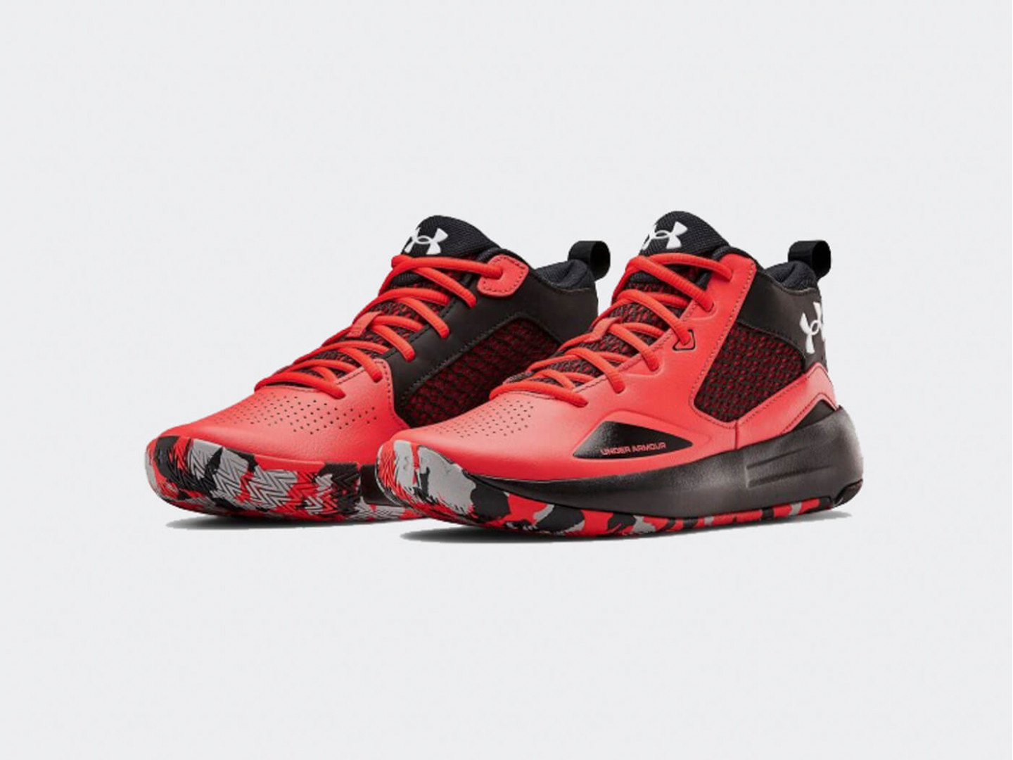 Кроссовки Under Armour Lockdown 5 / red, black