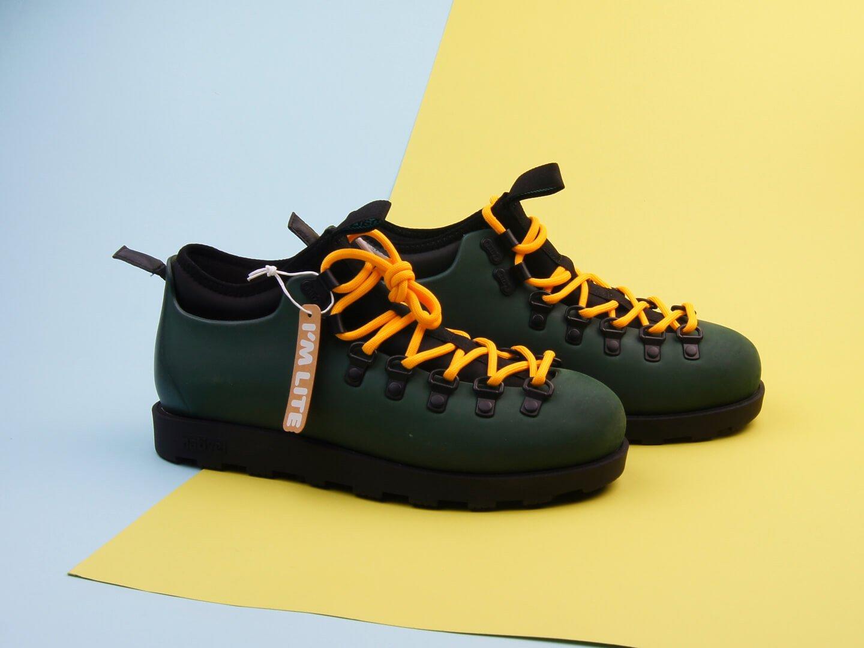 Ботинки Native Fitzsimmons Citylite / spookygreen, jiffy black