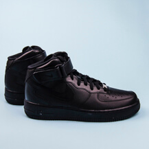Мужские кроссовки Nike Air Force 1 Mid 07 / black