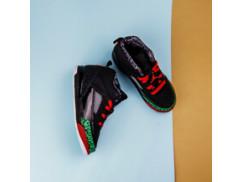 Детские кроссовки Air Jordan SPIZIKE / bk, red, green