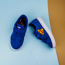 Детские кроссовки Puma Justice League Suede AOP V PS