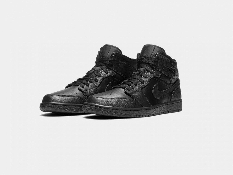 Кроссовки Air Jordan 1 Mid / black