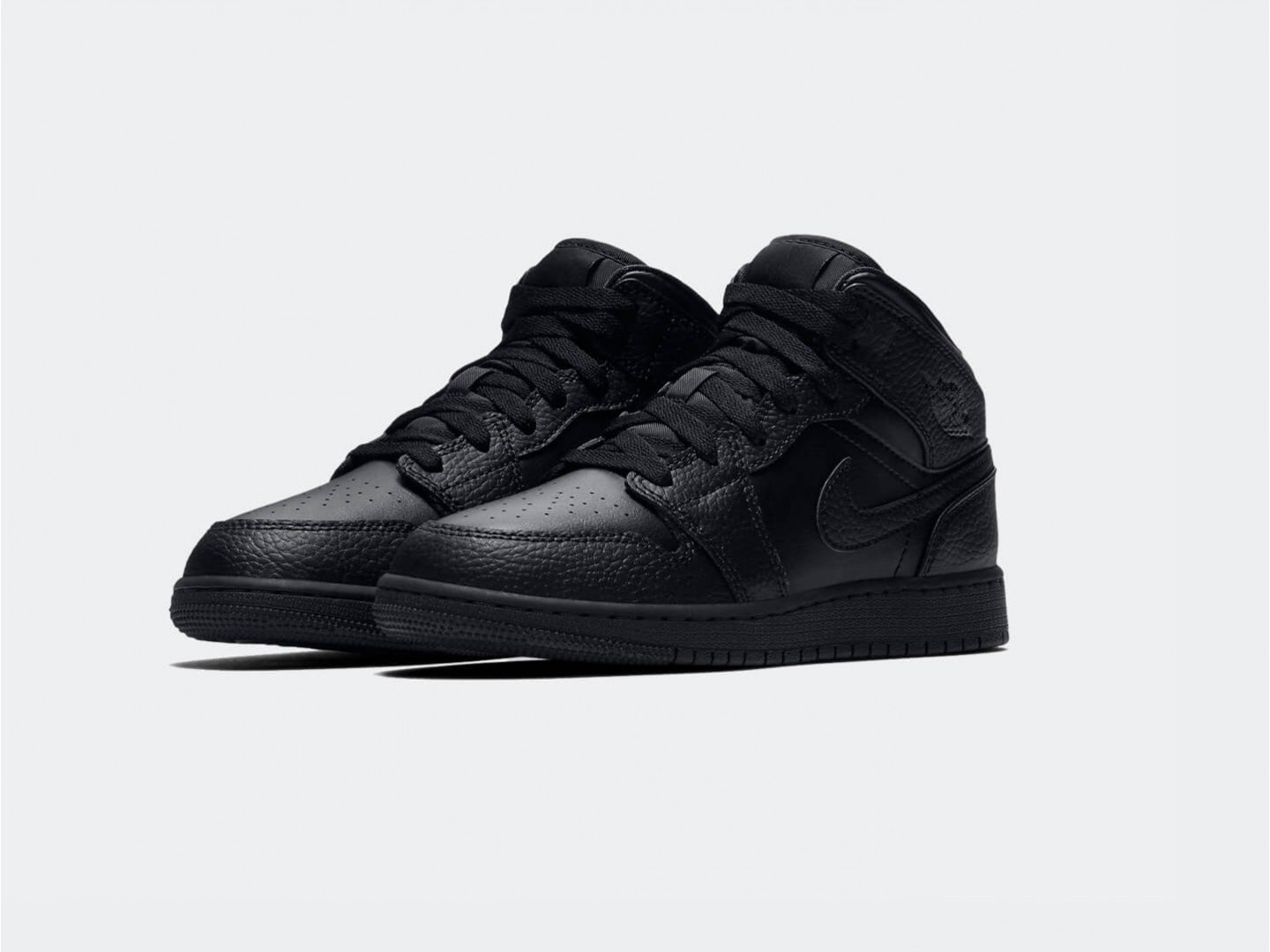 Кроссовки Air Jordan 1 Mid / black