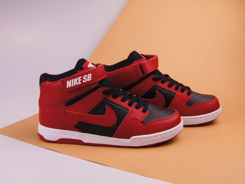 Кроссовки Nike SB Mogan Mid 2 JR / red, black