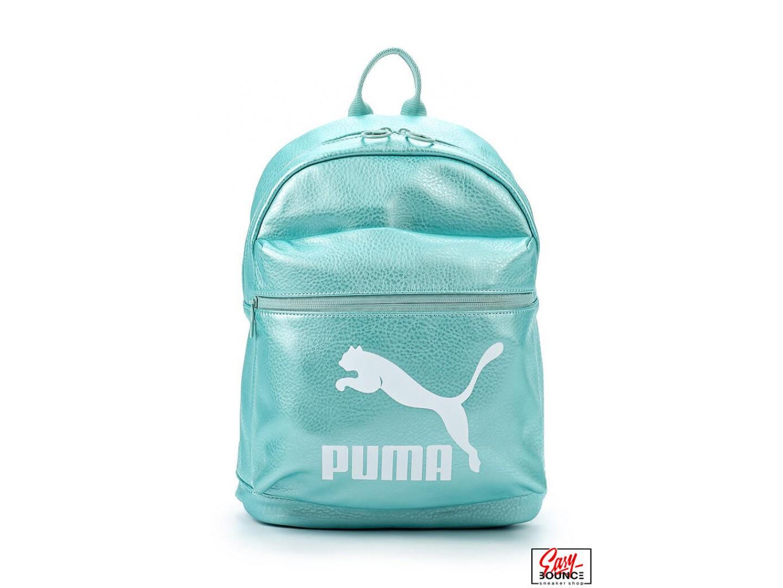 Женский рюкзак Puma Prime Backpack Metallic / turquoise