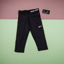 Детские леггинсы Nike Pro Cool Capris / black