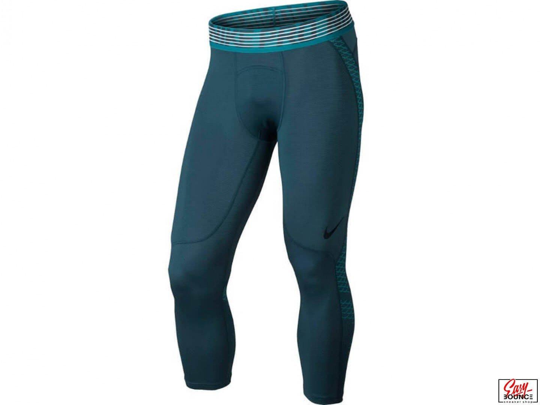 Компрессионные штаны Nike Training Pro Hypercool 3/4 / Blue