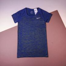 Футболка Nike Dri-Fit Knit Top Short Sleeve / blue