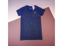 Футболка Nike Dri-Fit Knit Top Short Sleeve / blue