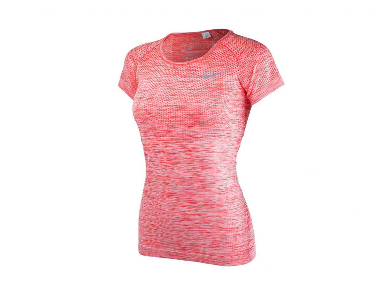 Футболка Nike Dri-Fit Knit Top Short Sleeve / orange