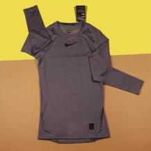 Компрессионная футболка Nike Pro Top / Grey