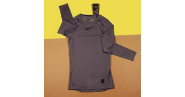 e110e42f Компрессионная одежда Nike Pro Top / Grey