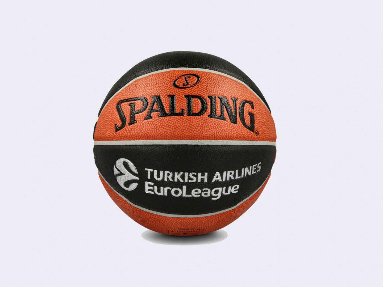 Баскетбольный мяч Spalding ТF-1000 Legacy Euroleague Offical Ball