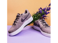 Женские кроссовки Nike Air Force 1 LV8 (GS) / Purple, Light Gray