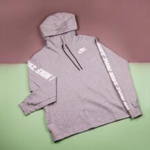 Женская толстовка Nike AV15 Hoodie / grey