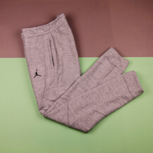 Штаны Air Jordan Sportswear Wings Fleece, dk grey heather/black