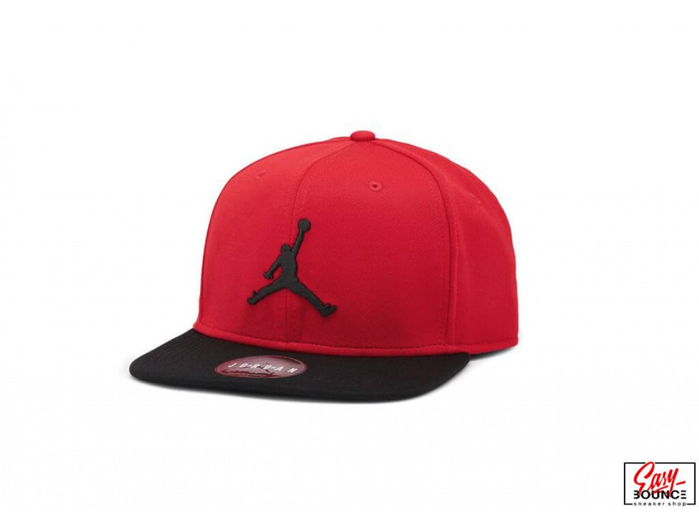 9120948b706 Купить снепбек Air Jordan Jumpman Snapback Hat   gym red