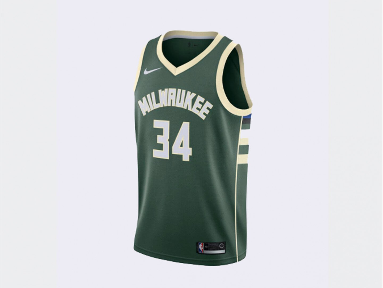 Джерси Nike Giannis Antetokounmpo Milwaukee Bucks