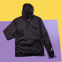 Толстовка Jordan 360 Fleece Pullover Hoodie / dark grey