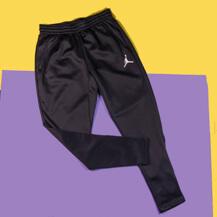 Штаны Jordan 360 Fleece Pants / dark grey