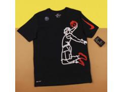 Футболка Nike Dry LBJ Famous Tee / black