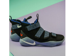 Мужские кроссовки Nike LeBron Soldier XI, grey/deep blue