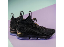Мужские кроссовки Nike LeBron XV, Black/Gold
