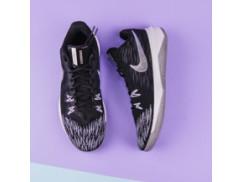Мужские кроссовки Nike Zoom Evidence II / black, metallic silver, white